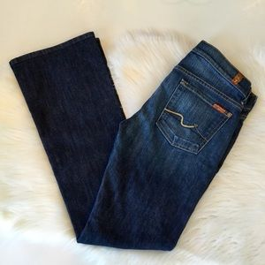 7 For All Mankind Bootcut Jeans, 29, EUC